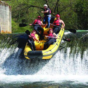 rafting fiume corno umbria
