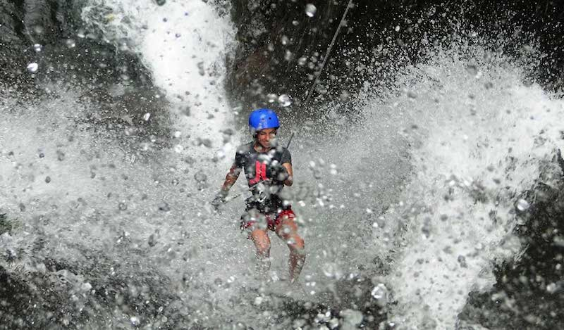 CANYONING SUL FIUME IANNELLO