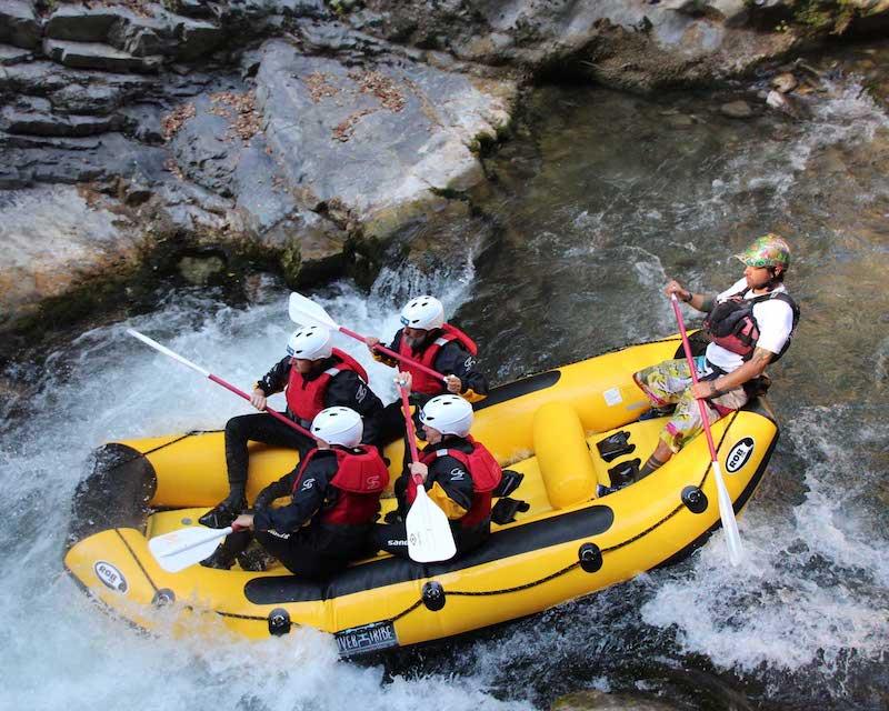 Rafting e ritorno a Papasidero