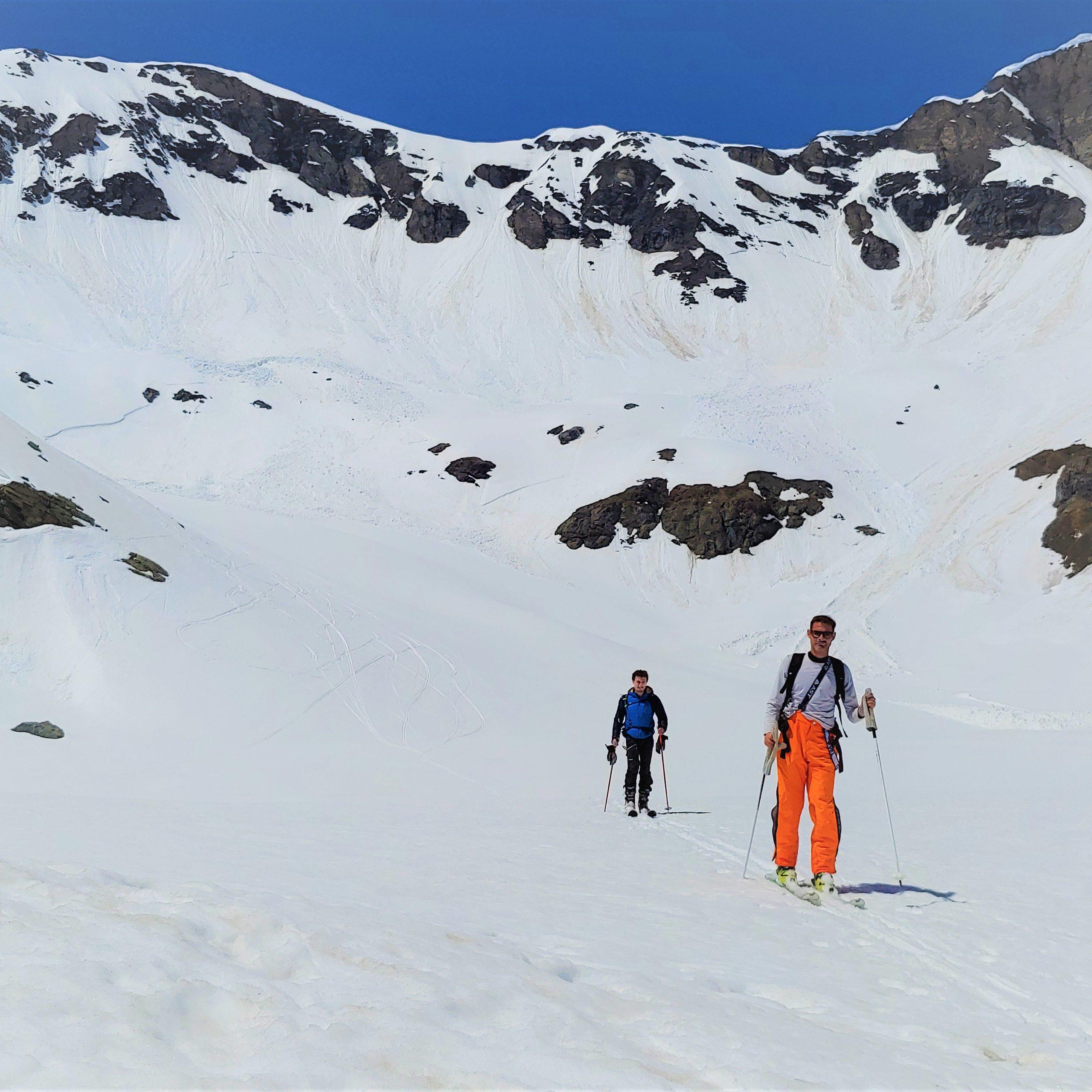 Scialpinismo nel Parco Nazionale del Gran Paradiso