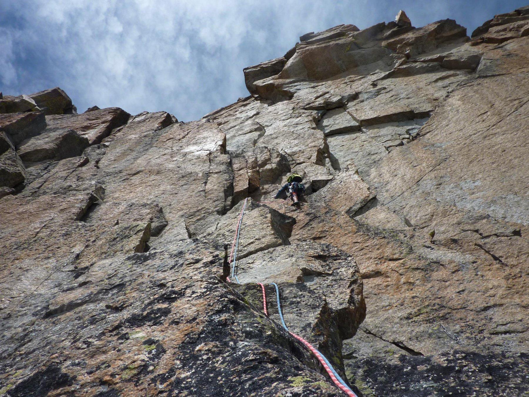 Check-in ed esercitazioni di arrampicata
