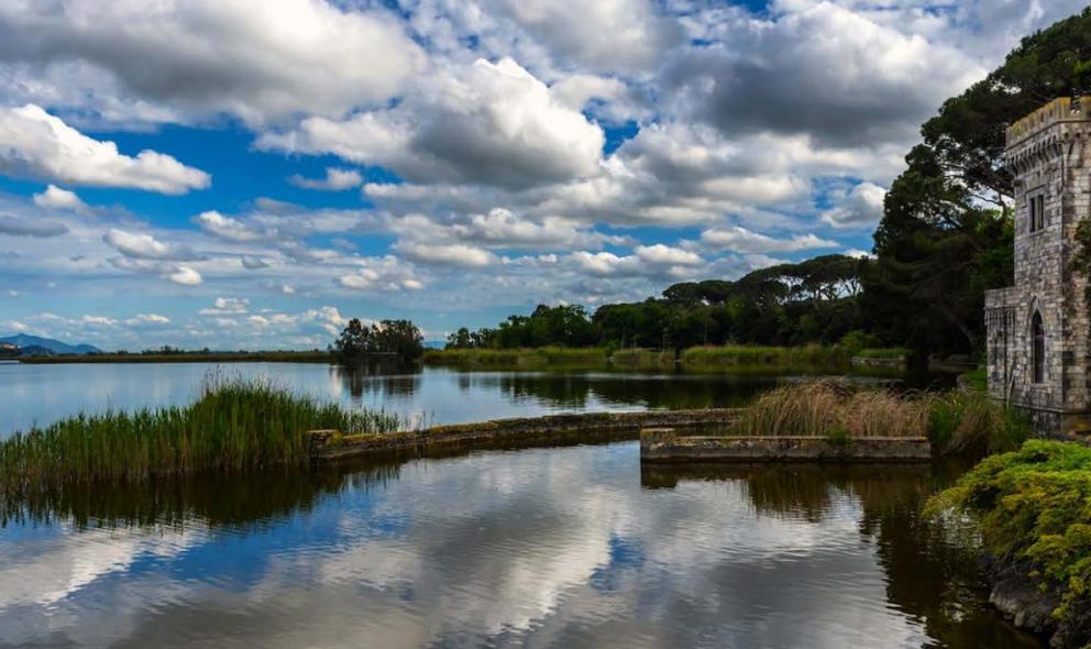 Veduta del Lago di Puccini