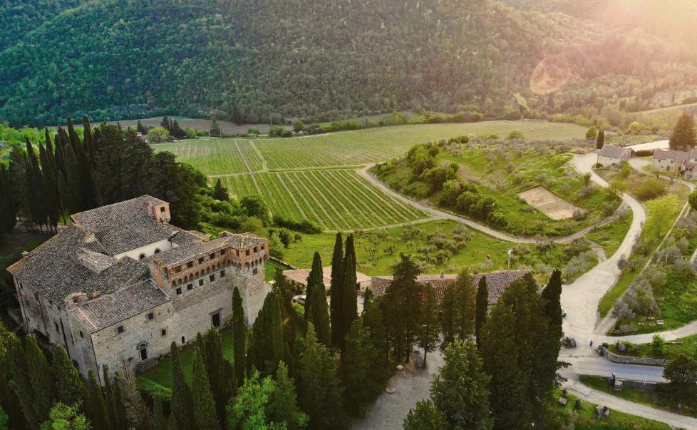 Degustazione 3 vini e visita alla tenuta/castello